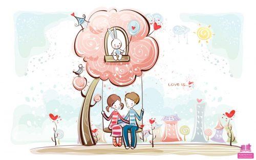 متن تبریک ولنتاین دخترونه عاشقانه